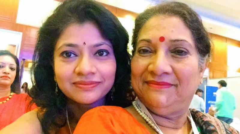 Gita Karan and Madhvi Chandra of Gitanjali.