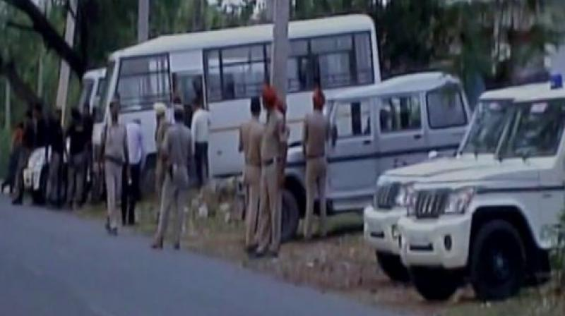 The Army, along with SWAT commandos are carrying out the operation. (Photo: ANI Twitter)