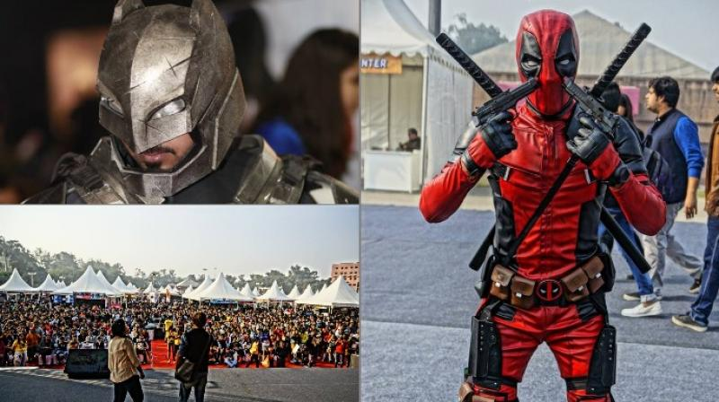 The Delhi Comic Con was first held in 2011 and has been hosted by the city annually ever since (Photo: Facebook/Comic Con India)