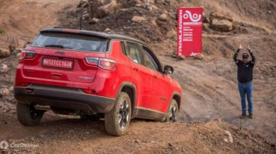 Jeep Compass Trailhawk expected to be priced upwards of Rs 25 lakh.