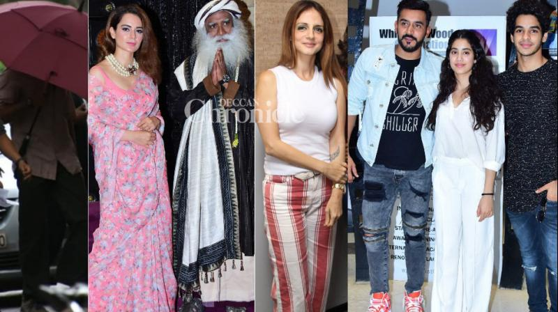 Bollywood stars gave paparazzi a busy day by stepping out for various reasons in Mumbai on Wednesday. (Photos: Viral Bhayani)