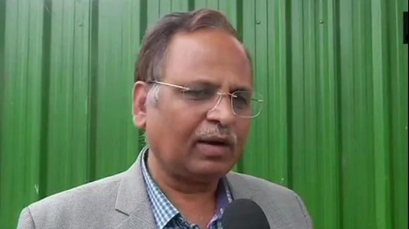 Delhi Home Minister Satyendar Jain has sent the file to Lt. Governor Anil Baijal with Arvind Kejriwal government's recommendations in the case, they told PTI. (Photo: Twitter/ ANI)