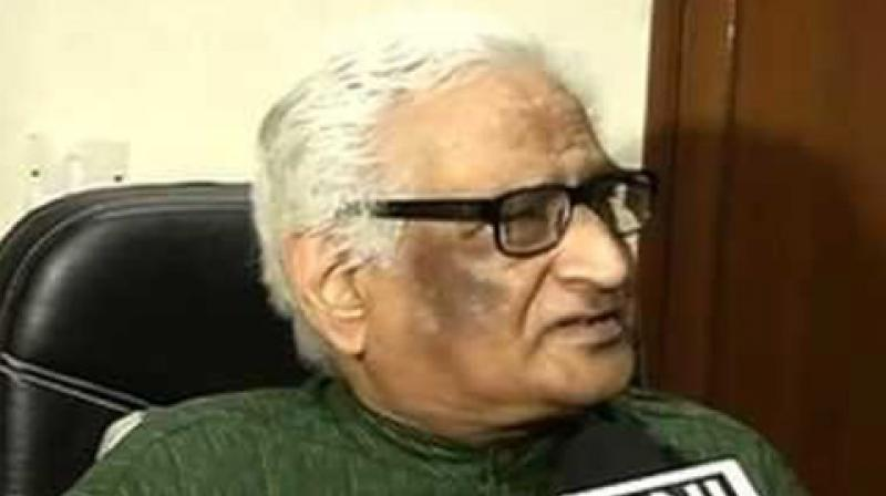 Advocate Rajeev Dhawan who represented the Sunni Waqf Board and other Muslim parties in the Ayodhya title dispute case on Tuesday claimed that he was sacked from the case. (Photo: ANI)