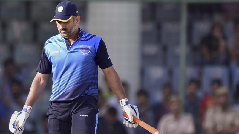 Mahendra Singh Dhoni, who has been travelling with the Jharkhand team and also staying at the team hotel, travelled back from the Vijay Hazare Trophy game against Bengal, in his private car. (Photo: PTI)