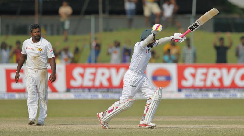 Captain Mushfiqur Rahim guided Bangladesh to the victory with 22 unbeaten runs. (Photo: AP)