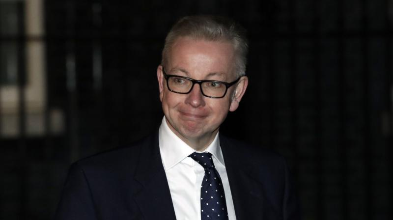 Gove said he hoped that the disclosure would not prevent him being appointed the next prime minister. (Photo: AP)