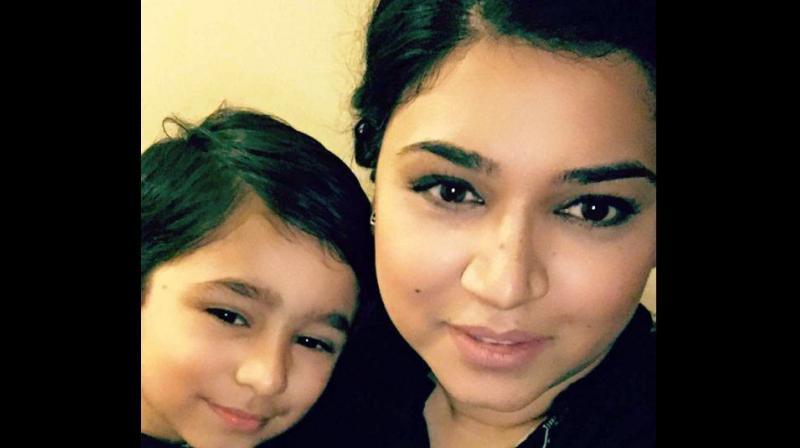 Alexander 'AJ' MacKinnon, 47, was filmed hurling abuse at Sanaa Shahid and her son Zayn as they travelled home to Glasgow. (Photo: Sanaa Shahid)