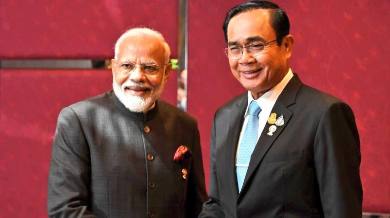 Going into this weekend's summit of the Association of Southeast Asian Nations (ASEAN) in Bangkok there had been hopes of finalising negotiations this year on the 16-nation Regional Comprehensive Economic Partnership (RCEP). (Photo: MEA Twitter)