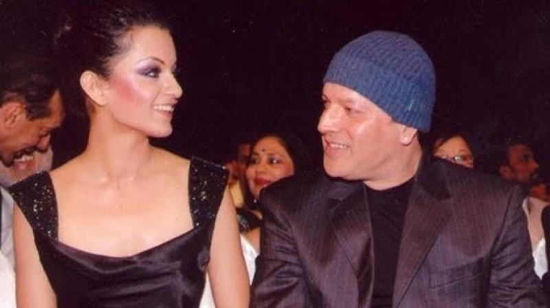 Kangana and Aditya during happier times.
