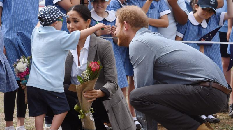 Meghan's schedule in Australia cut back after hectic start