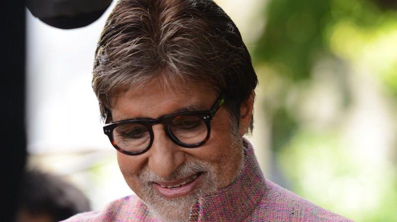 Amitabh Bachchan will be seen in 'Thugs of Hindostan' later this year.