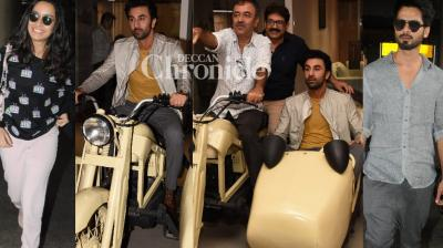 Celebrities from the film industry were seen at various locations in Mumbai on Thursday and were snapped by the cameras. (Photos: Viral Bhayani)