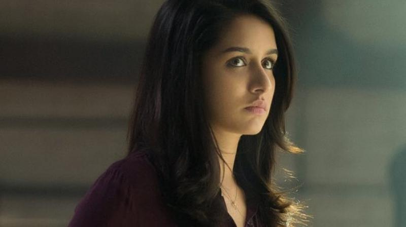 Shraddha Kapoor's first look from 'Saaho'.