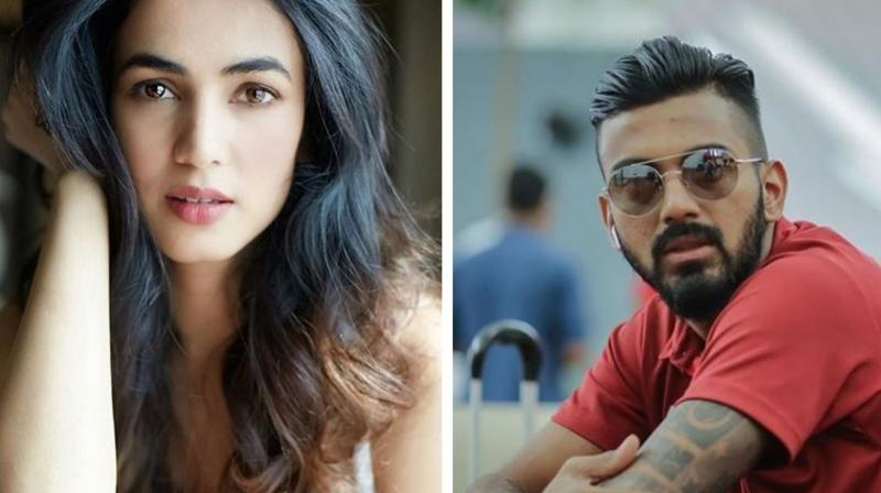 Sonal Chauhan and KL Rahul (Photo: Instagram)