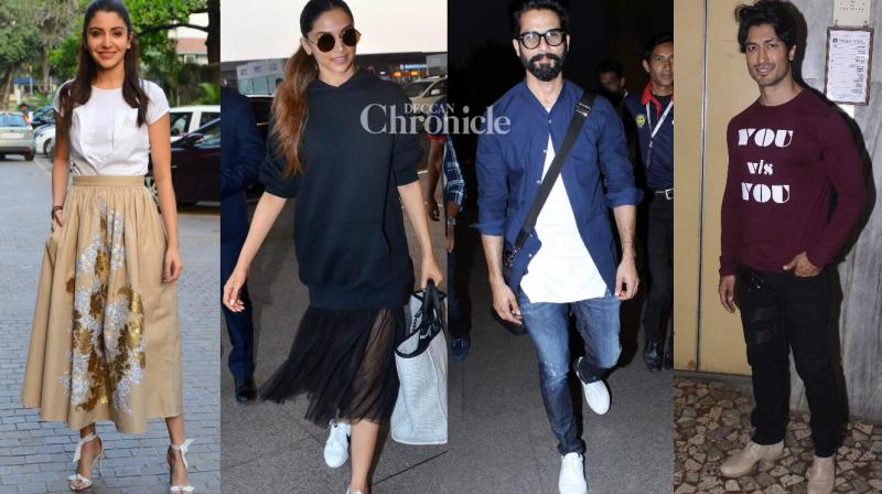 Bollywood stars were snapped at various locations in Mumbai on Thursday. (Photo: Viral Bhayani)