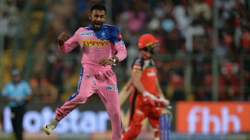 Shreyas Gopal is a bowling all-rounder. He started off as a batsman. But on the advice of (Rahul) Dravid whyo saw him bowl, he took up bowling seriously. (Photo: AFP)