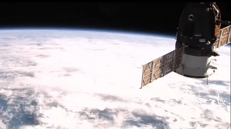 NASA's ISS cameras stream a real-time live view of the Earth from multiple cameras onboard. Click on the video below to see the Earth from the ISS in real time.