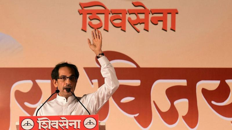 Patil also claimed that while the Sena keeps attacking the BJP, Uddhav Thackeray met Chief Minister Devendra Fadnavis at a city hotel two days ago. (Photo: File | PTI)