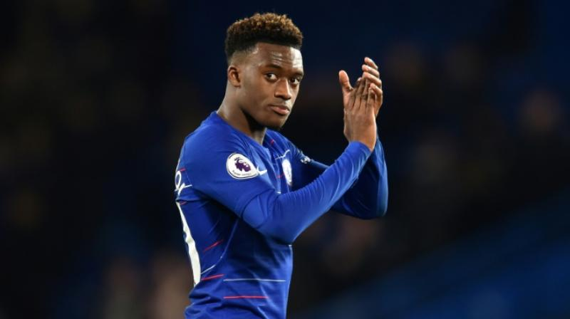 Callum Hudson-Odoi's previous deal was set to expire at the end of the season and he was heavily linked with German champions Bayern Munich, whose interest in the 18-year-old was rejected by Chelsea earlier this year. (Photo:AFP)