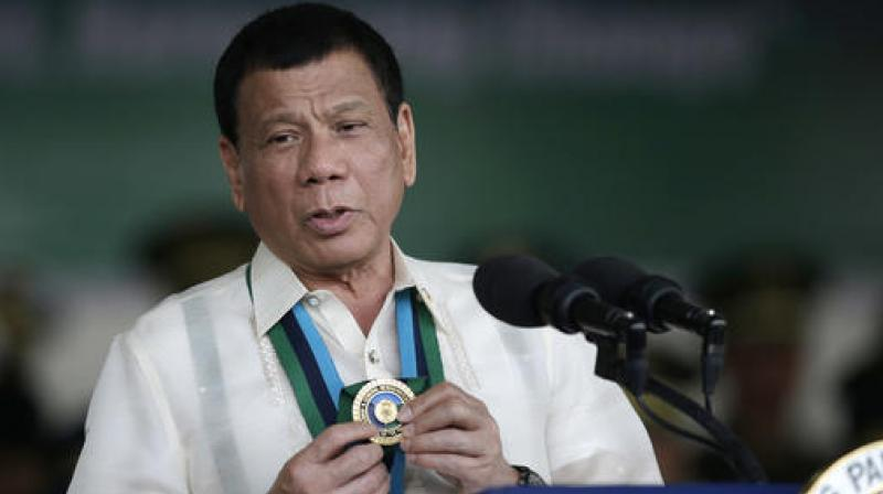 Philippine President Rodrigo Duterte. (Photo: AP)