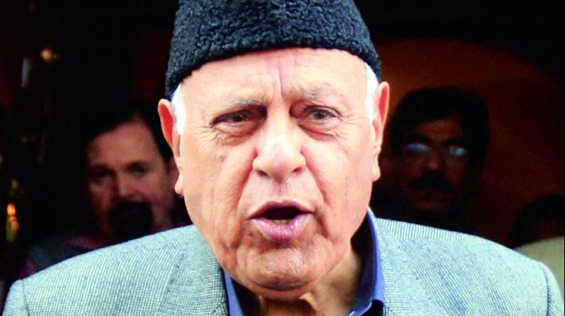 'The mushrooming of political outfits in the valley is also suggestive of the nefarious agenda of such forces as they want to demean and divide the voice of the people particularly the Muslims,' Farooq Abdullah said. (Photo: File)