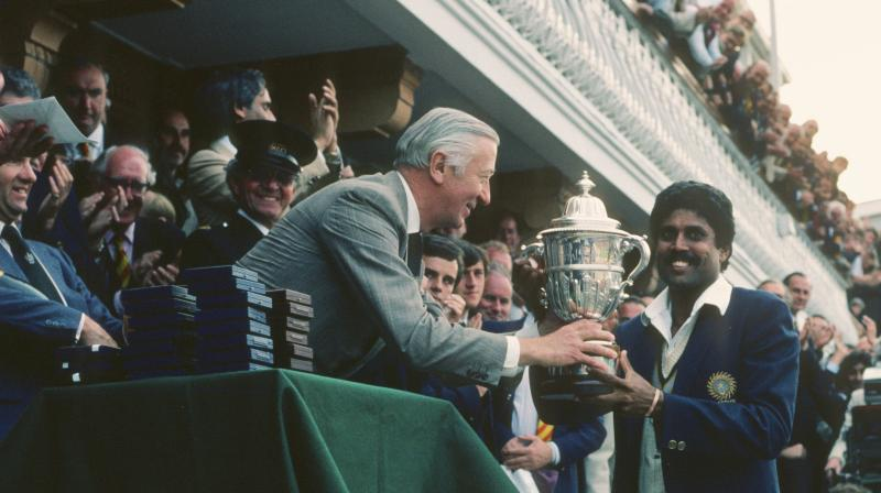 The World Cup winning team was led by all-rounder Kapil Dev. (Photo: BCCI/Twitter)