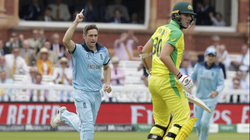Finch and Warner, who made 53, shared 123 in their third-century stand of the tournament, making England's gamble to bowl first apparently backfire. (Photo: AP)