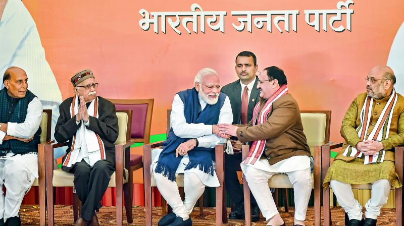 JP Nadda takes charge as new BJP president