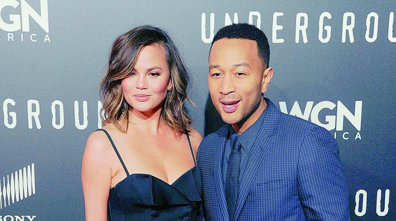Chrissy Teigen's Baby Shower with Kim Kardashian Was Fit For a Legend