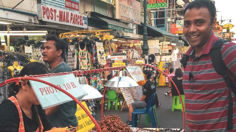 Vivek Singh at Khaoson Road in Bangkok
