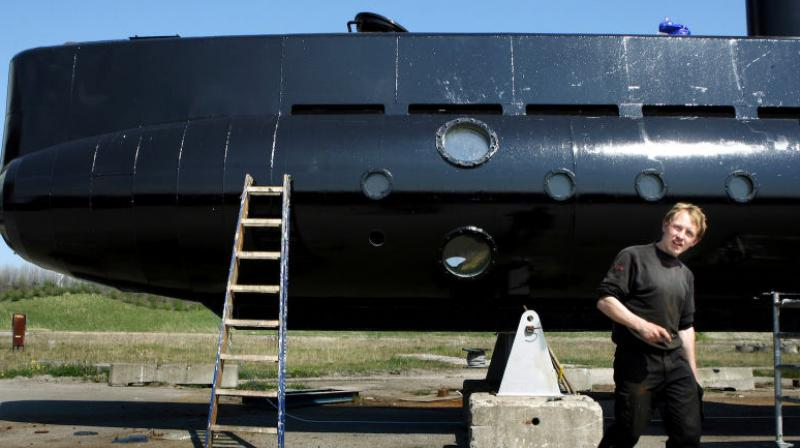 The 47-year-old, nicknamed 'Rocket Madsen,' was well-known in Denmark before his arrest as an inventor who dreamed of exploring worlds beyond. He built his own submarine and was developing plans for private space travel. (Photo: AP)