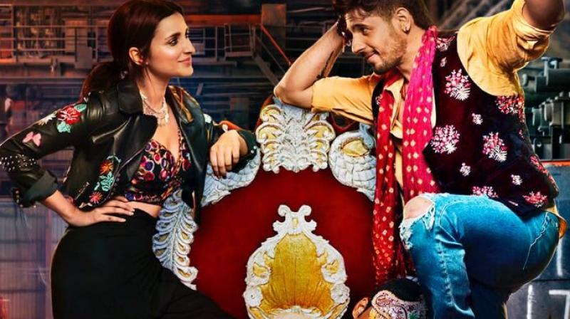 First poster of 'Jabariya Jodi'.