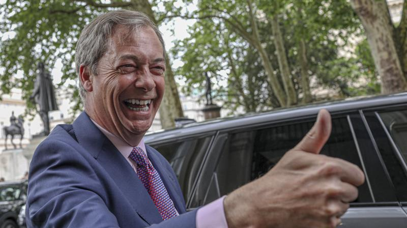 Farage only registered his party in February but succeeded in leveraging his reputation as one of the architects of the 2016 referendum. (Photo:AP)