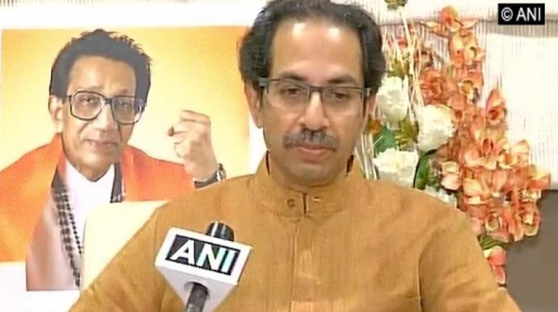 'Mamata Banerjee was amongst the foremost people who made such noise of fighting against Modi's dictatorship. But Modi has been elected democratically,' Shiv Sena mouthpiece 'Saamna' said. (Photo: ANI)