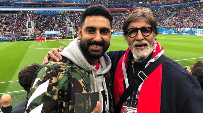 Amitabh Bachchan and Abhishek Bachchan. (Photo: Instagram)