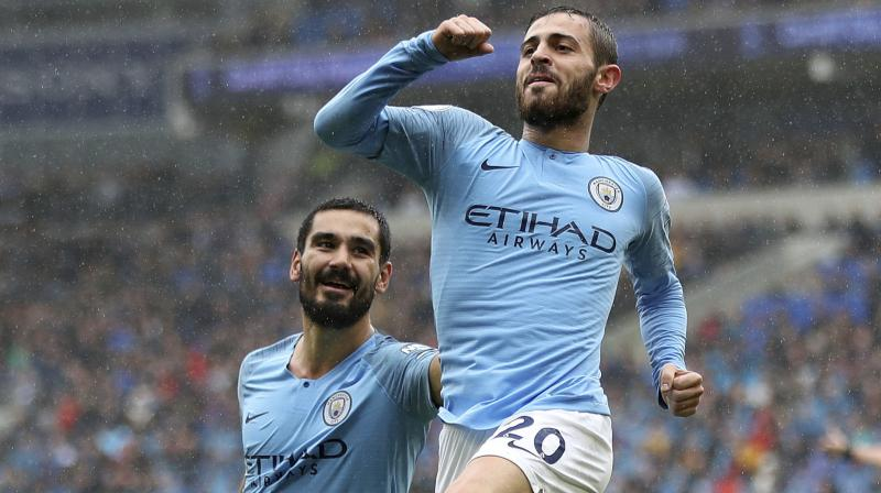 Portuguese playmaker Bernardo Silva has emerged as the one player who is an almost automatic selection, despite the embarrassment of riches and depth Guardiola possesses in his first-team squad. (Photo: AP)