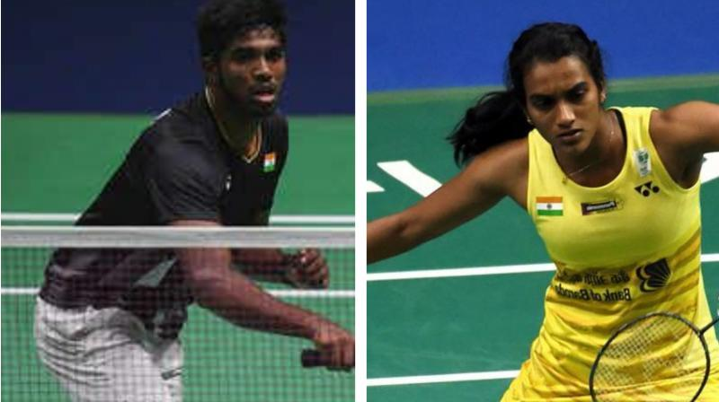 Reigning world champion PV Sindhu made an early exit from the China Open after losing a three-game thriller against Thailand's Pornpawee Chochuwong in the women's singles pre-quarterfinals here on Thursday. (Photo:AFP)