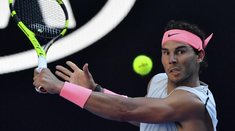 Nadal, a losing finalist to Roger Federer last year in Melbourne, will face Bosnia-Herzegovina's 28th seed Damir Dzumhur in the third round. (Photo: AP)