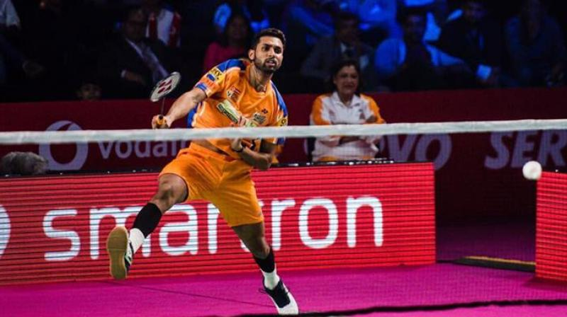 HS Prannoy said it left him with no option but to take part as he had already missed the first two Super 500 tournaments at Malaysia and Indonesia. (Photo: Twitter)