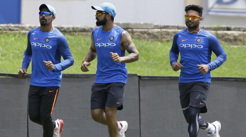 While Virat Kohli returned to lead India following a rest during the Asia Cup, Rishabh Pant earned call-up to India's ODI squad as Ravindra Jadeja retained his place in the side following his impressive showing in Asia Cup. (Photo: AP)