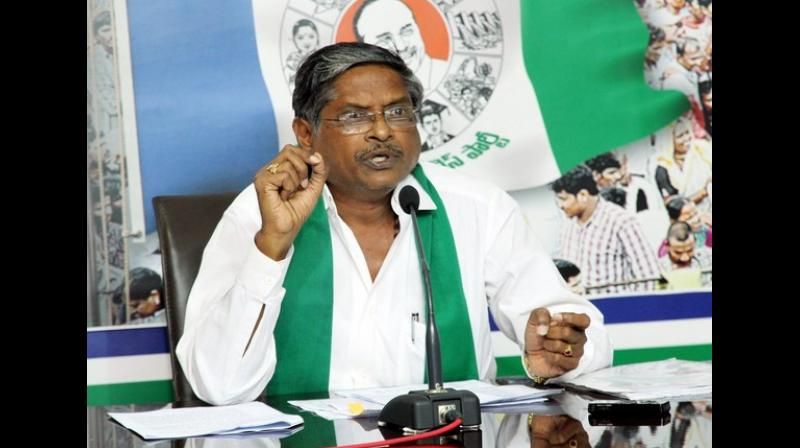 'Had India entered into RCEP, the market would have flooded with imported products. The agreement would have adversely affected the interests of the local farmers and medium level industrialists Vice Chairman of Agriculture Mission MVS Nagi Reddy said. (Photo: ANI)