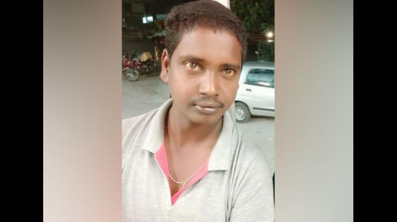 Gurunatham was working as a driver to the Abdullahpurmet Tehsildar, Vijaya Reddy who died after being allegedly set ablaze on fire in her office. (Photo: ANI)