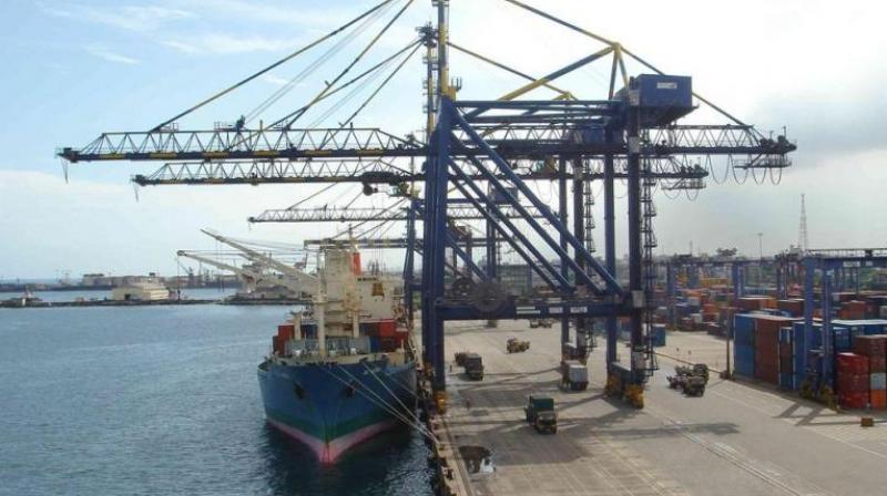 Chennai Port handles record container rakes