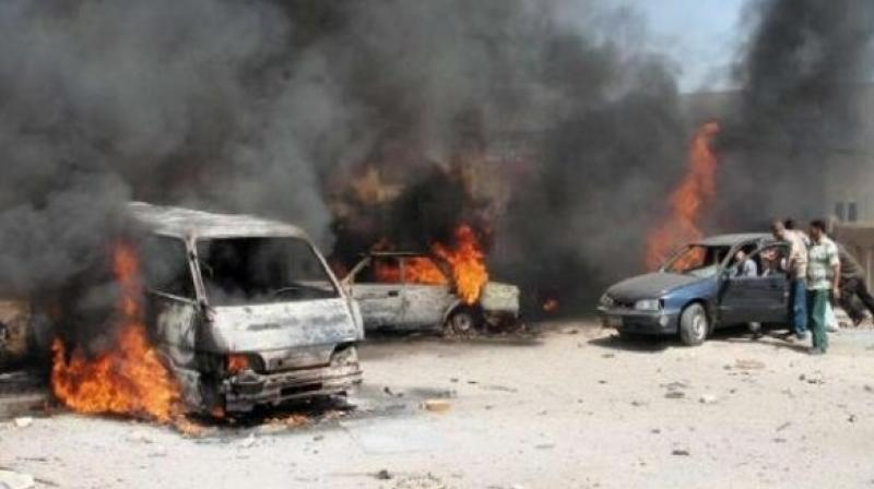 "This time the terrorists detonated a car bomb in the Al-Bab bus terminal in the Op Euphrates Shield area, killing 10 civilians and injuring more than 15."" the ministry tweeted. (Photo: ANI Representational )"