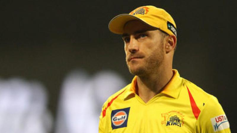IPL 2018: Faf du Plessis to miss clash against Mumbai Indians, says ...