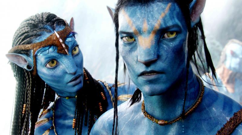 A still from 'Avatar'.