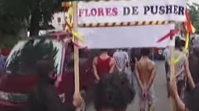 Such parades have taken place for years on Gili Trawangan, a tiny island off the coast of Lombok and just east of the major resort island of Bali. (Photo: Videograb)