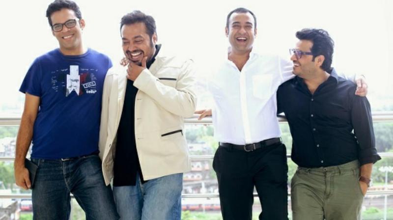 Vikramaditya Motwane, Anurag Kashyap, Madhu Mantena and Vikas Bahl.