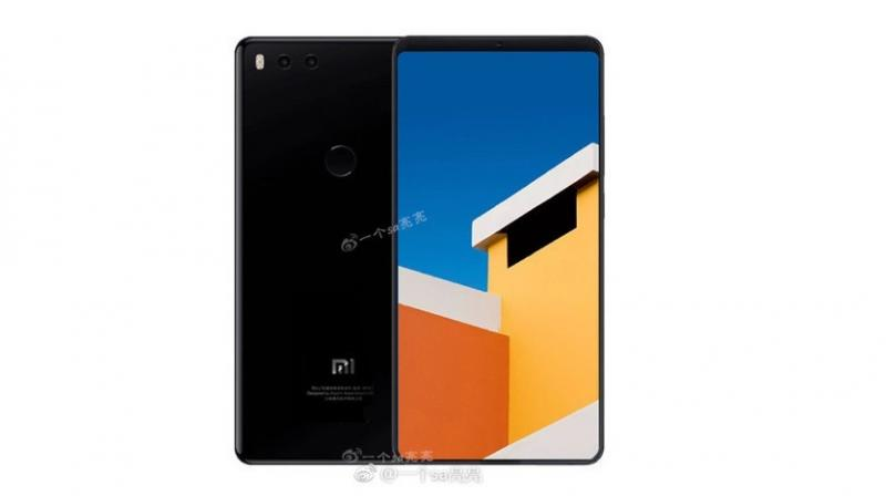 Xiaomi Mi Mix 2S Banner Leak Shows the Design and Key Specifications