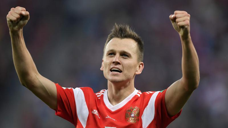 "Cheryshev, 27, shared a letter from Spain's anti-doping agency on his official Twitter account which said that ""an investigation was carried out and closed after no signs of irregular conduct were found."" (Photo: AFP)"